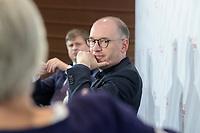 """08 JUN 2021, BERLIN/GERMANY:<br /> Nils Annen, MdB, SPD, Staatsminister beim Bundesminister des Auswaertigen, Wirtschaftskonferenz, Wirtschaftsforum der SPD """"Post-Coronomics - Transformation, Wachstum, Beschäftigung"""", Axica Kongresszentrum<br /> IMAGE: 20210608-01-175"""