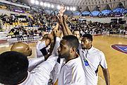 DESCRIZIONE : Campionato 2014/15 Virtus Acea Roma - Giorgio Tesi Group Pistoia<br /> GIOCATORE : Team Virtus Acea Roma<br /> CATEGORIA : Before Pregame Fair Play<br /> SQUADRA : Virtus Acea Roma<br /> EVENTO : LegaBasket Serie A Beko 2014/2015<br /> GARA : Dinamo Banco di Sardegna Sassari - Giorgio Tesi Group Pistoia<br /> DATA : 22/03/2015<br /> SPORT : Pallacanestro <br /> AUTORE : Agenzia Ciamillo-Castoria/GiulioCiamillo<br /> Predefinita :
