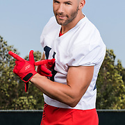 New England Patriots wide receiver Julian Edelman during the United Sports Brands, Cutter and JE11 photo shoot on Friday, June 30, 2017 at the StubHub Center in Carson, Calif.