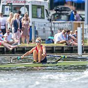 Emma Twigg , New Zealand elite Womens Single Scull<br /> <br /> Racing at the Henley Royal Regatta on The Thames river, Henley on Thames, England. Saturday 6 July 2019. © Copyright photo Steve McArthur / www.photosport.nz