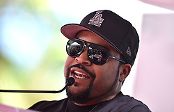 Ice Cube attends the ceremony honoring Kevin Hart with a Star on the Hollywood Walk of Fame in Los Angeles, California on October 10, 2016. Photo by Lionel Hahn/AbacaUsa.com