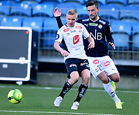Fotball , 18. mars 2017 ,  Privatkamp , Strømsgodset - Sogndal 5-0<br /> Taijo Teniste , Sogndal<br /> Stian Ringstad , SIF