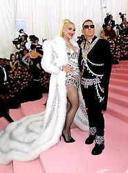 Gwen Stefani and Jeremy Scott attending the Metropolitan Museum of Art Costume Institute Benefit Gala 2019 in New York, USA.