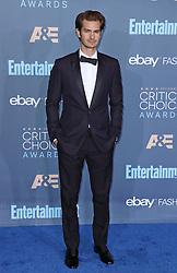 Andrew Garfield, The 22nd Annual Critics Choice Awards at Barker Hangar (Santa Monica, CA.)
