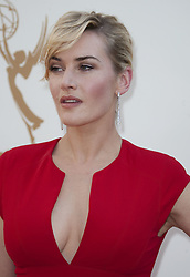 "October 15, 2017 - Los Angeles, California, United States of America - Kate Winslet disclosed that she did not thank Harvey Weinstein on purpose in her 2009 Oscars speech for the Ã'The ReaderÃ"" on Sunday October 15, 2017. FILE PHOTO:Actress Kate Winslet at the 63rd Annual Primetime Emmy Awards held at Nokia Theatre L.A. LIVE on Sunday, September 18, 2011 in Los Angeles, California. JAVIER ROJAS/PI (Credit Image: © Prensa Internacional via ZUMA Wire)"