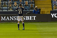 Football - Sky Bet Championship - Millwall vs Luton Town - The Den<br /> <br /> Connor Mahoney (Millwall FC)  poses for the photographer after scoring his teams second goal <br /> <br /> COLORSPORT/DANIEL BEARHAM