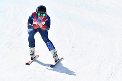 WHITLEY James LW5/7-3 GBR competing in ParaSkiAlpin, Para Alpine Skiing, Super G at PyeongChang2018 Winter Paralympic Games, South Korea.