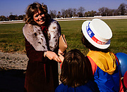 Phyllis George campaigns for John Y Brown to be Kentucky Governor in Lexington, Kentucky. Phyllis Ann George was an American businesswoman, actress, and sportscaster. She was also Miss Texas 1970, Miss America 1971, and the First Lady of Kentucky from 1979 to 1983. Ms. George died, aged 70, of complications from Polycythemia vera on May 14, 2020 in Lexington, Kentucky.