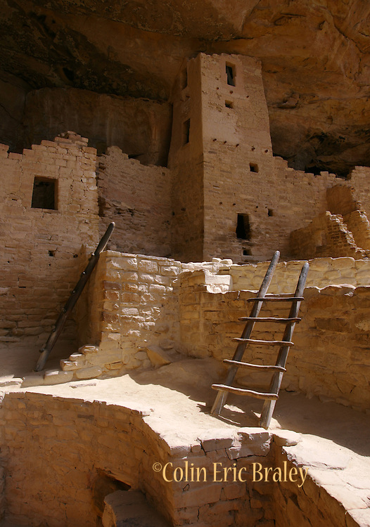 Cliff Palace in Colorado's Mesa Verde National Park, is the largest cliff dwelling in North America. It was constructed between 1211 and 1278 A.D. by the ancestors of the Puebloan people of the Southwest.