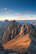 Kismet 13.694ft rises just to the south of Mount Sneffels  in the San Juan mountains of Colorado.