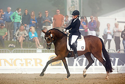 Freund Jana (GER) - Cassiopaya<br /> FEI World Dressage Championships for Young Horses<br /> Internationales Dressur- und Springfestival - Verden 2014<br /> © Dirk Caremans