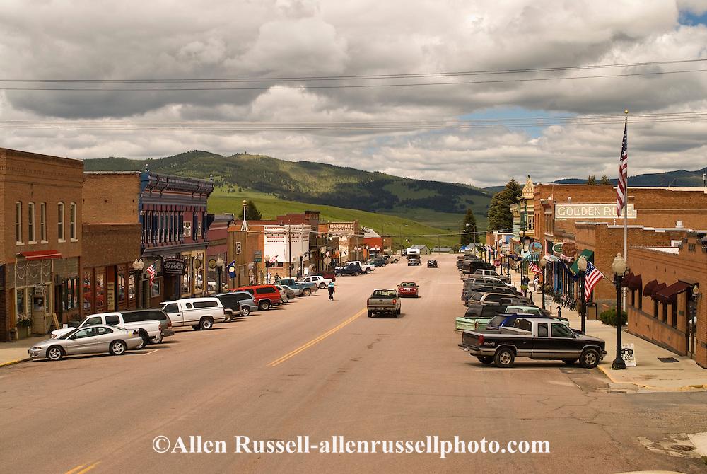 Downtown Philipsburg Montana