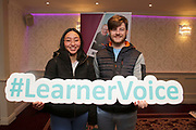 Attending The National FET Learner Forum Regional Meeting in the Abbey Hotel, Roscommon on Wednesday were Ivanna Rivero with Daniel O'Neill Castlerea. Photo:- XPOSURE.IE