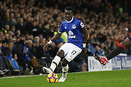 Idrissa Gueye of Everton in action. Premier league match, Everton v Manchester United at Goodison Park in Liverpool, Merseyside on Sunday 4th December 2016.<br /> pic by Chris Stading, Andrew Orchard sports photography.