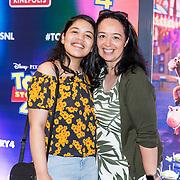 NLD/Utrecht/20190622 - Filmpremiere Toy Story 4, Kaylee Jane met haar moeder