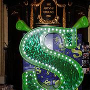 GBR/London/20120510 - Persreis musical Shrek London, Schrek Logo