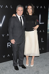 November 6, 2016 - Los Angeles, California, United States - November 6th 2016 - Los Angeles California USA -  Chief Executive Officer Paramount Studios   BRAD GREY, wife  at the 2016 ''Arrivals'' Premiere  held at the Regency Village Theater, Westwood  Los Angeles, CA (Credit Image: © Paul Fenton via ZUMA Wire)