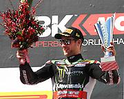 World Superbike Championship. Round 1. Phillip Island. Australia. Sunday 26.2. 2017 WSBK Motorcycle race, Motorrad-Rennen. <br /> #1 Jonathan Rea (GBR) Kawasaki Racing Team - race winner,  <br /> - fee liable image, copyright © ATP/ Damir IVKA