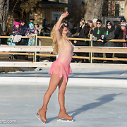 Alex Murphy performs with Ice Dance International at Strawbery Banke, Portsmouth NH on Jan 14, 2017