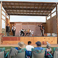 """Gallup Repertory Theater performs Shakespeare's """"Twelfth Night"""" Thursday, June 13 north of the flea market in Gallup as part of their Shakespeare in the Park series."""