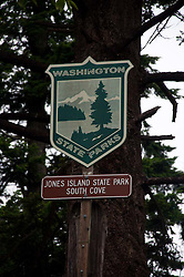 Jones Island, San Juan Islands, Washington, US