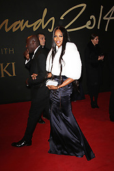 Naomi Campbell, The British Fashion Awards 2014, The London Coliseum, London UK, 01 December 2014, Photo By Brett D. Cove © Licensed to London News Pictures. 02/12/2014. Brett D Cove/PIQ/LNP