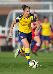 Arsenal Ladies' Casey Stoney - Photo mandatory by-line: Paul Knight/JMP - Mobile: 07966 386802 - 09/05/2015 - SPORT - Football - Bristol - Stoke Gifford Stadium - Bristol Academy Women v Arsenal Ladies FC - FA Women's Super League