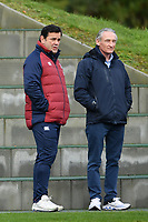 Rugby Union - 2020 Six Nations Championship - England Training Session & Press Conference pre-Ireland<br /> <br /> Ex England International Will Carling looks on, at Pennyhill Park Hotel.<br /> <br /> COLORSPORT/ASHLEY WESTERN