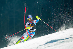 PINTURAULT Alexis of France competes during 1st Run of Men Slalom race of FIS Alpine Ski World Cup 54th Vitranc Cup 2015, on March 15, 2015 in Kranjska Gora, Slovenia. Photo by Vid Ponikvar / Sportida