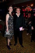 KEELEY HAWES; PHILIP GLENISTER, Specsavers Crime Thriller Awards.  Award ceremony celebrating the best in crime fiction and television. <br /> Grosvenor House Hotel, Park Lane, London. 21 October 2009