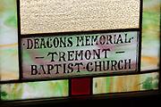 Tremont Baptist Church, Seal Cove, Maine.