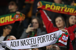 November 20, 2018 - Guimaraes, Guimaraes, Portugal - Ambient during the UEFA Nations League football match between Portugal and Poland at the Dao Afonso Henriques stadium in Guimaraes on November 20, 2018. (Credit Image: © Dpi/NurPhoto via ZUMA Press)