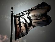 Havana, 03 de Junho de 2011..E aqui, na praca da Revolucao, mais uma vez a famosa bandeira nacional do pais...Y aquí, en Plaza de la Revolución, una vez más la bandera famosa del país...Foto: LEO DRUMOND / NITRO