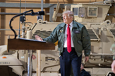 President Trump and the First Lady Visit Troops in Iraq - 26 Dec 2018