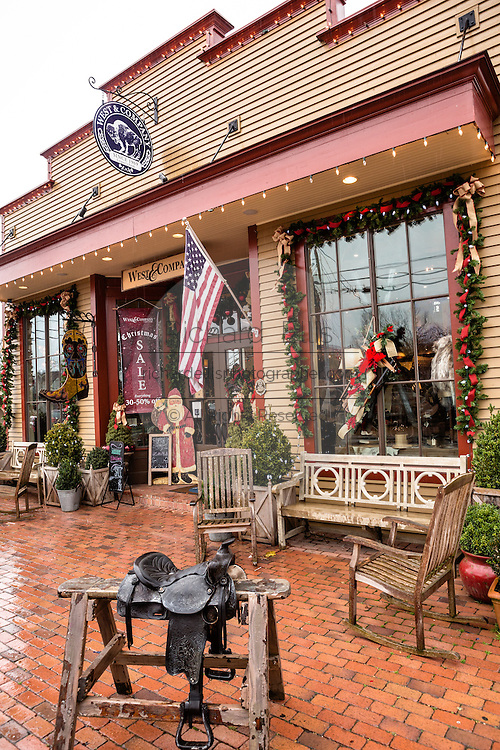 West & Company shop in Leipers Fork, Tennessee.