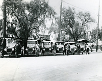 1914 Van M. Griffith Auto Service at Hastings Place in East Hollywood. Van Griffith is 3rd from right.