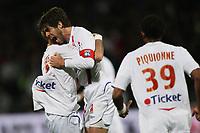 Fotball<br /> Frankrike<br /> Foto: DPPI/Digitalsport<br /> NORWAY ONLY<br /> <br /> FOOTBALL - FRENCH CHAMPIONSHIP 2008/2009 - L1 - OLYMPIQUE LYONNAIS v AS MONACO FC - 12/04/2009 - JOY JUNINHO (OL)<br /> <br /> Lyon