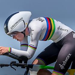EMMEN (NED) June 16: <br />CYCLING <br />Dutch Nationals Time Trail Women Elite Anna van der Breggen