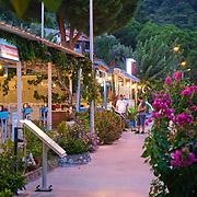 Turunc promenade in the evening, Turkey