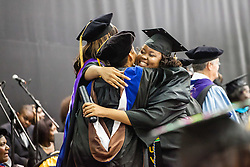 Nichole Etienne.  Fifty-first annual University of the Virgin Islands  Commencement Exercises.  UVI Sports & Fitness Center.  St. Thomas, VI.  14 May 2015.  © Aisha-Zakiya Boyd