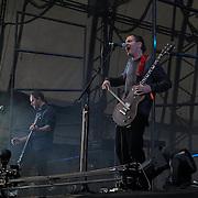London,England,UK : 17th July 2016 : Sigur Ros preforms at the Citadel Festival 2016 at Victoria Park, London,UK. Photo by See Li