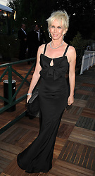 TRUDIE STYLER at the Royal Parks Foundation Summer Party hosted by Candy & Candy on the banks of the Serpentine, Hyde Park, London on 10th September 2008.