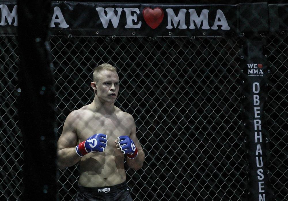 Kampfsport: MMA, We love MMA, Oberhausen, 31.01.2015<br /> Christian Skorzik (JKD Akademie NRW)<br /> © Torsten Helmke