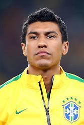 Paulinho, volante da Seleção Brasileira de Futebol. FOTO: Jefferson Bernardes/ Agência Preview