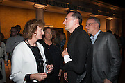 JULIA PEYTON-JONES; PATRIK SCHUMACHER; HANS-ULRICH OBRIST, VIP opening  of the new Serpentine Sackler Gallery designed by Zaha Hadid . Kensinton Gdns. London. 25 September 2013
