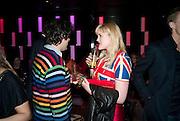 CHRIS BERNAN; EMERALD FENNELL, The Tatler Little Black Book party. Chinawhite club. London. 21 November 2009