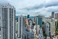 cityscape at Causeway Bay in Hong Kong