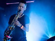 Andri Már of Icelandic indie-electro band Vök at Zoom Club in Frankfurt