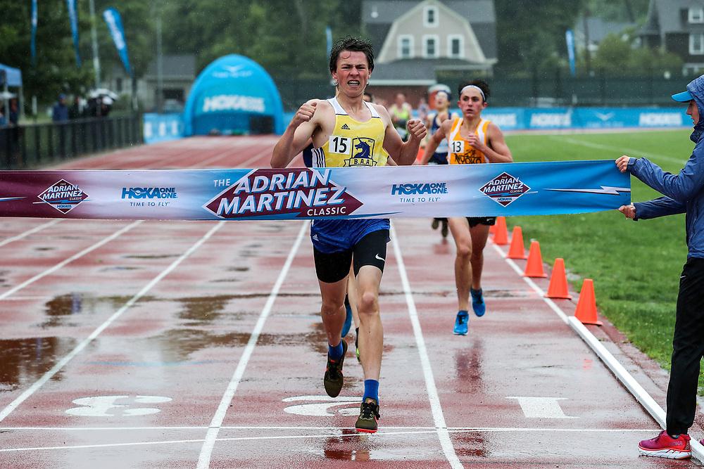 James Ibrahim, Boys One Mile Run, <br /> 2019 Adrian Martinez Track Classic