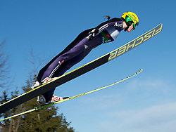 01.02.2014, Energie AG Skisprung Arena, Hinzenbach, AUT, FIS Ski Sprung, FIS Ski Jumping World Cup Ladies, Hinzenbach, Wettkampf im Bild #5 Anna Rupprecht (GER) // during FIS Ski Jumping World Cup Ladies at the Energie AG Skisprung Arena, Hinzenbach, Austria on 2014/02/01. EXPA Pictures © 2014, PhotoCredit: EXPA/ Reinhard Eisenbauer